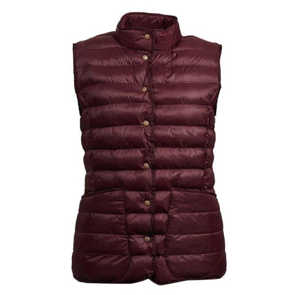 Barbour Womens Carlton Gilet Aubergine