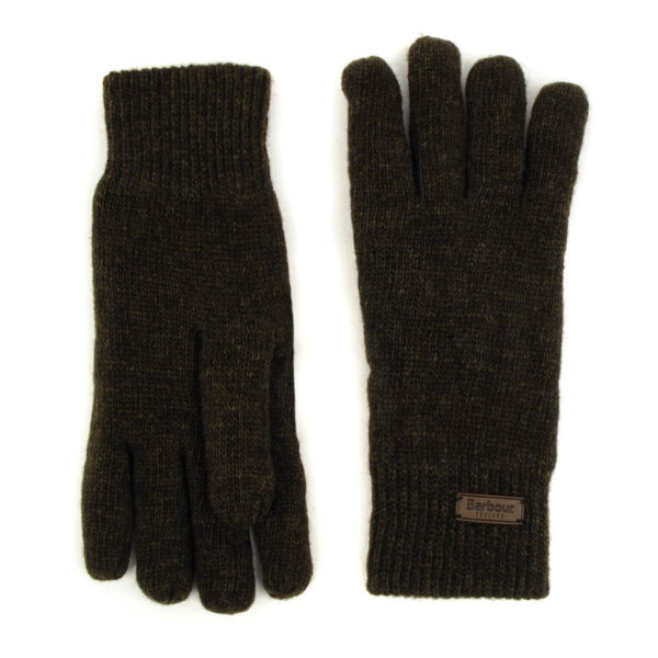 Barbour Carlton Gloves Green