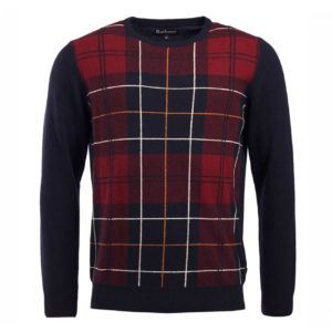 Barbour Coldwater Crew Knit Navy