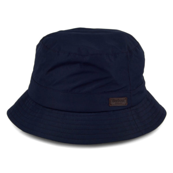 Barbour Elwood Waterproof Bucket Hat Navy