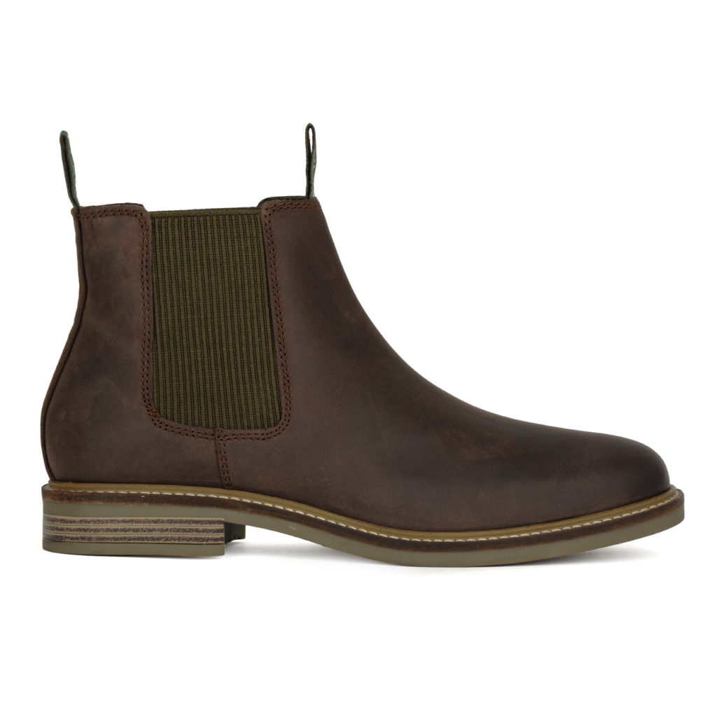 Barbour Farsley Chelsea Boot Choco
