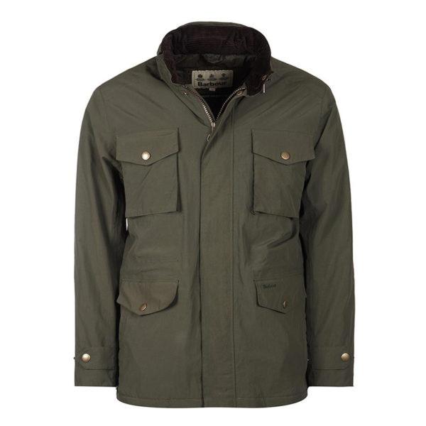 Barbour Jersey Jacket Olive