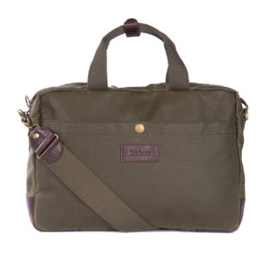 Barbour Lowerfell Business Bag Archive Olive