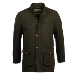 Barbour Lulham Wool Jacket Green
