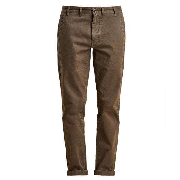 Barbour Neuston Stretch Trousers Reg Leg Mid Olive