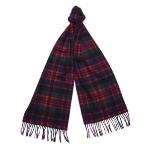 Barbour New Check Tartan Scarf Macdonald