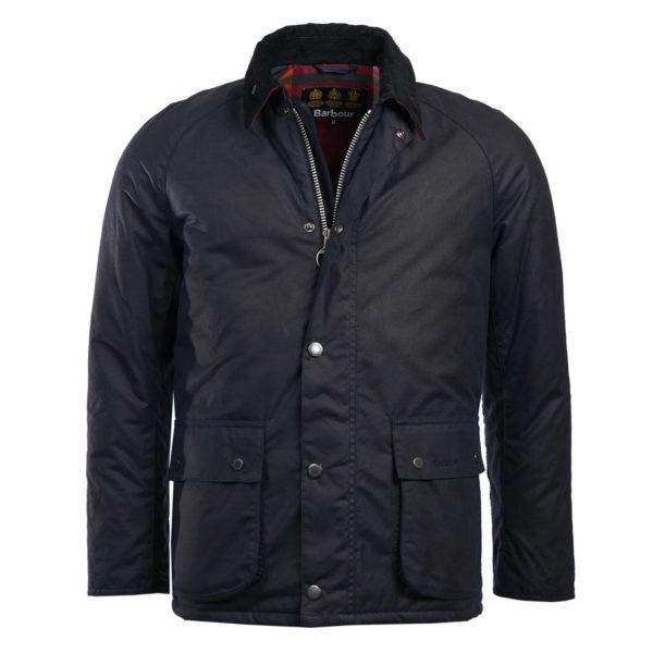 Barbour Strathyre Wax Jacket Royal Navy