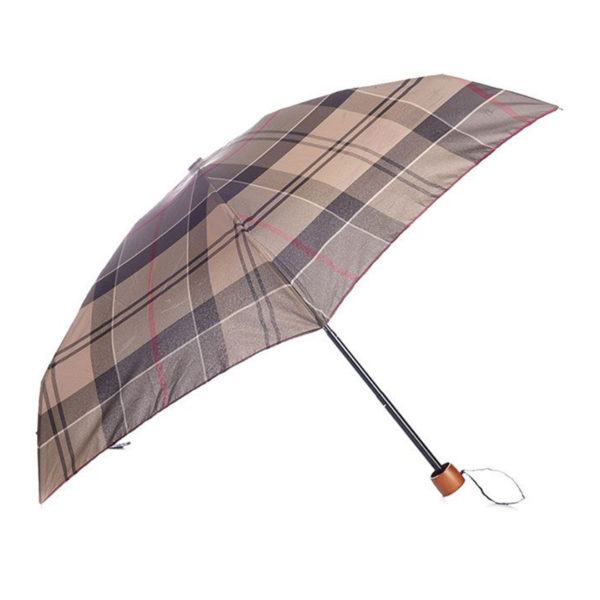 Barbour Tartan Handbag Umbrella Winter Tartan