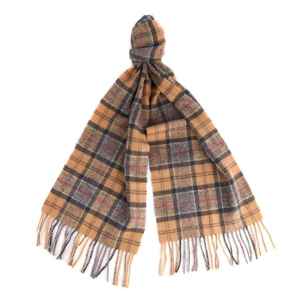 Barbour Tartan Lambswool Scarf Dress