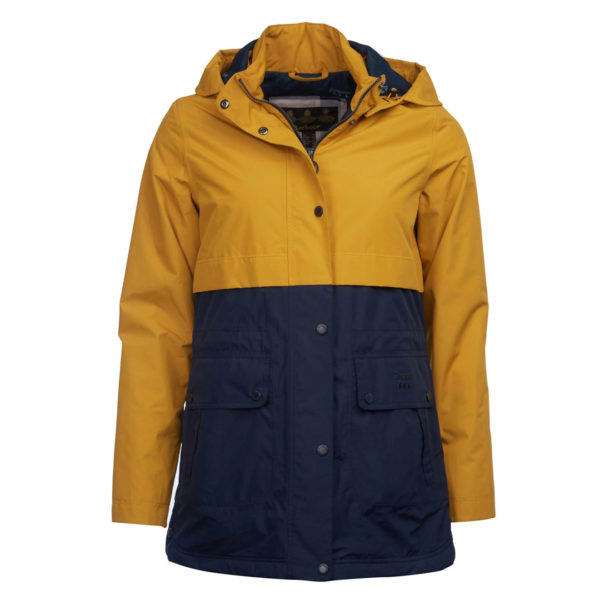 Barbour Womens Altair Jacket Lunar Yellow