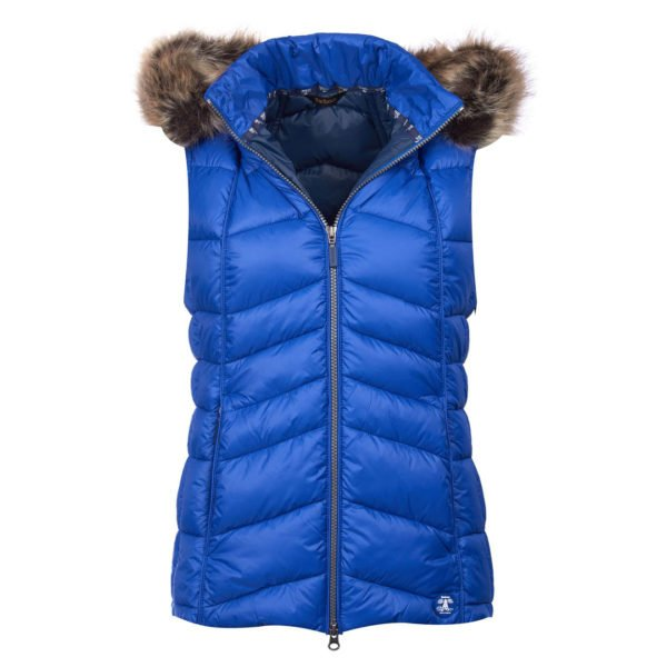 Barbour Womens Bernera Gilet Seablue