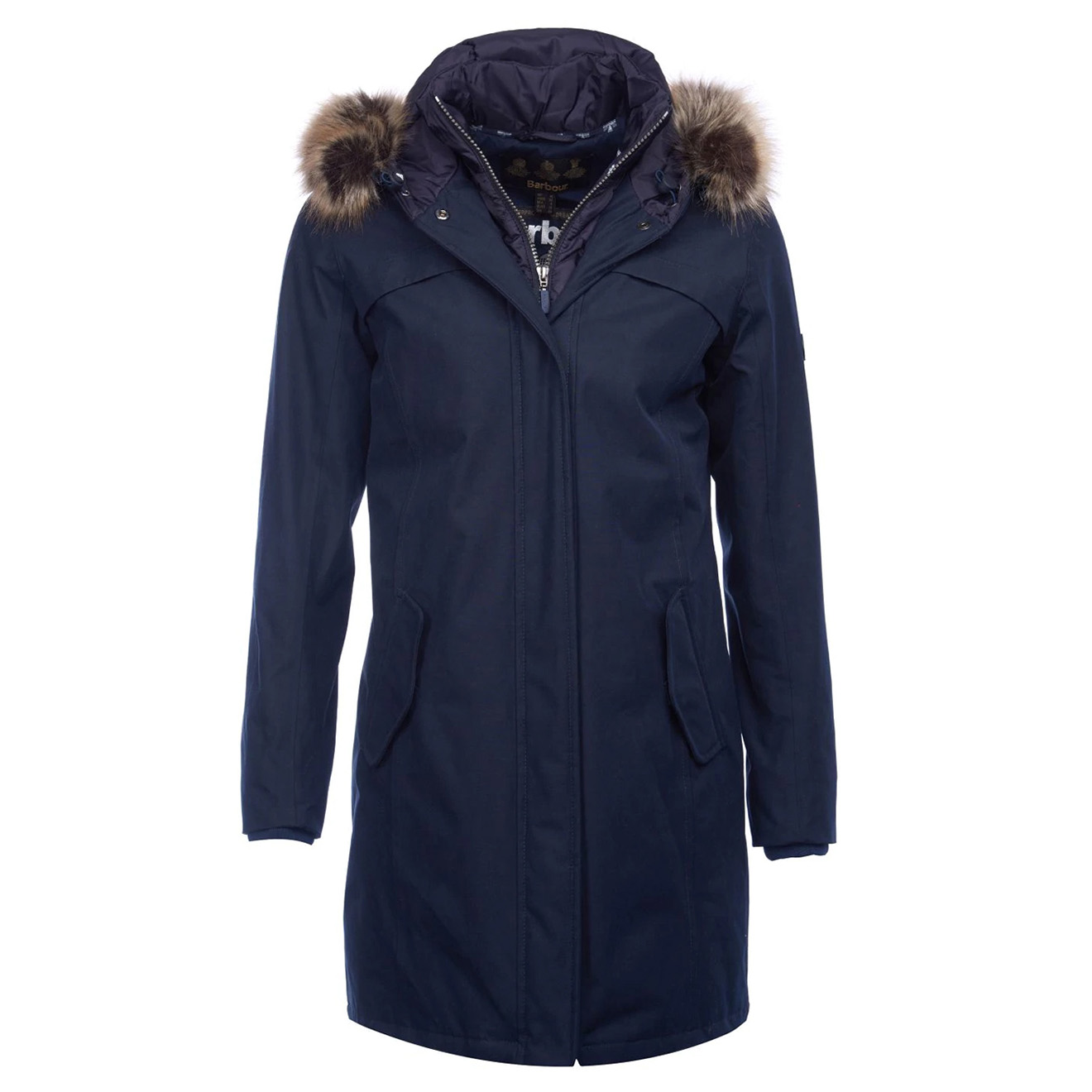 Barbour Womens Coldhurst Jacket Navy The Sporting Lodge