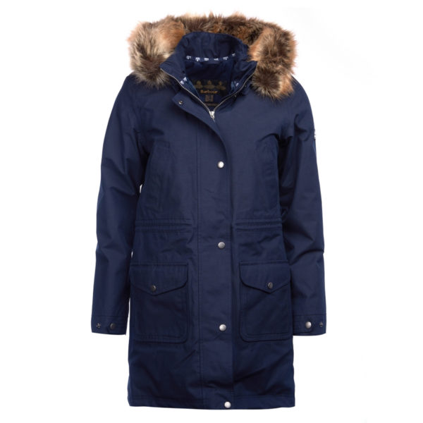 Barbour Womens Ferryside Jacket Navy