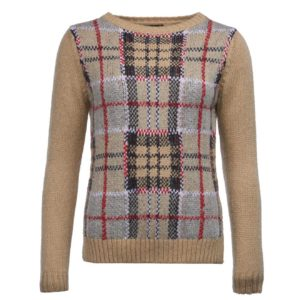 Barbour Womens Morlich Knit Caramel