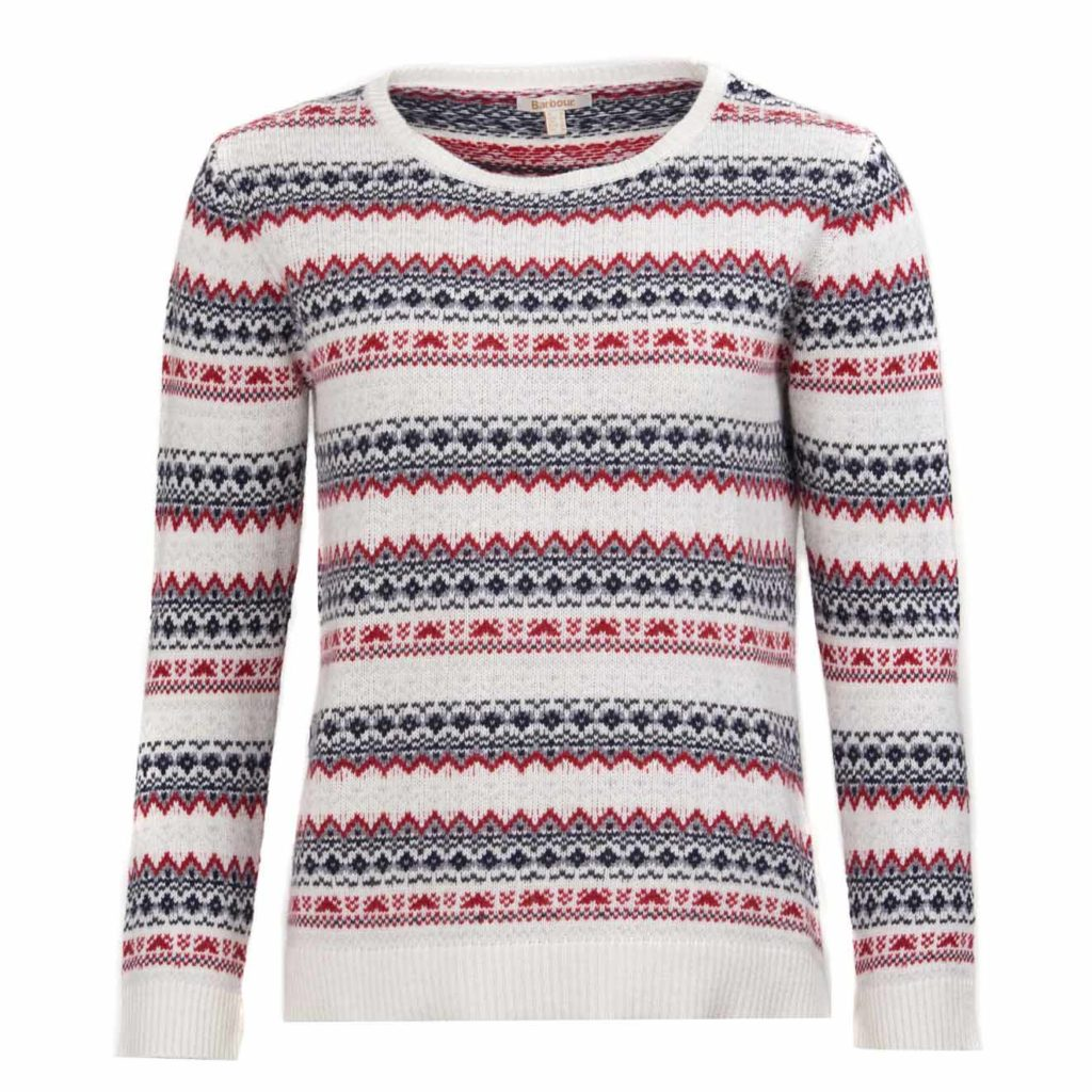 Barbour Womens Roseberry Knit Chilli