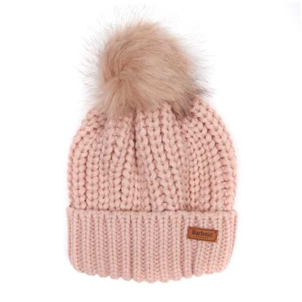 Barbour Womens Saltburn Beanie Pink