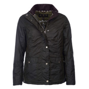 7b12ce0df0d Barbour Womens Sandsend Wax Jacket Fern