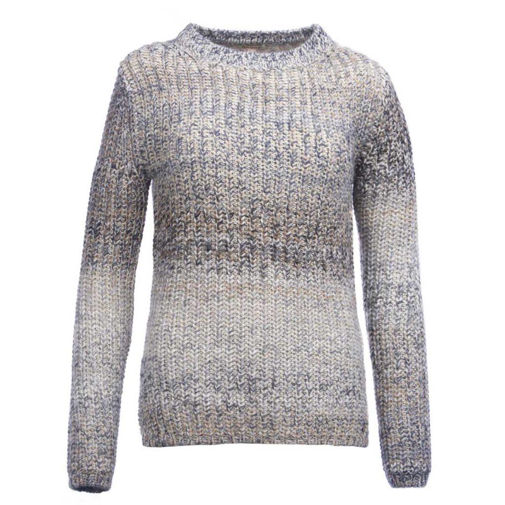 Barbour Womens Seahouse Knit Mist Mix