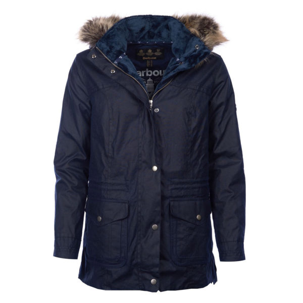 Barbour Womens Southwold Wax Jacket Royal Navy