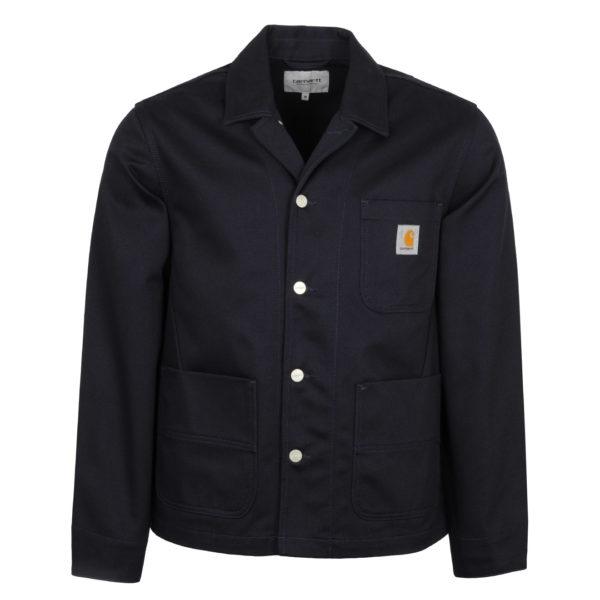 Carhartt Chalk Jacket Dark Navy Rigid