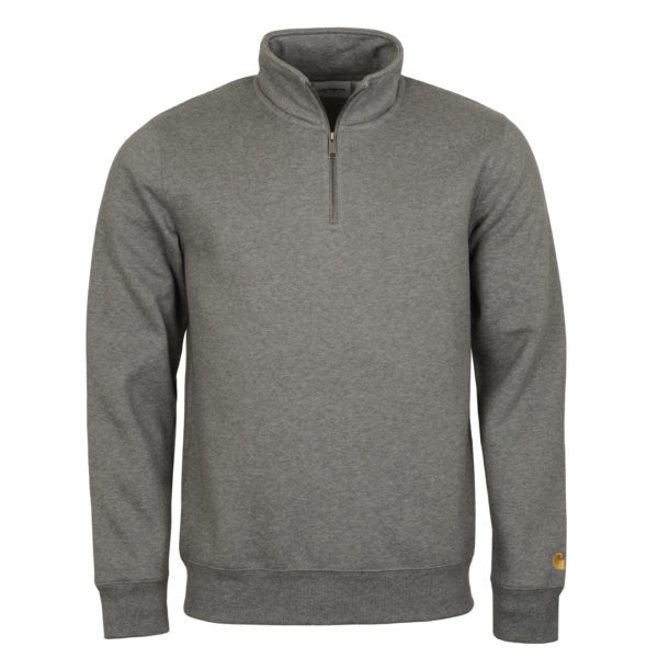 Carhartt Chase High Neck Sweat Dark Grey Heather