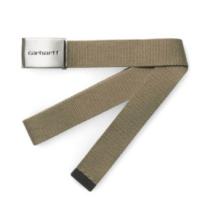 Carhartt Clip Belt Chrome Leather