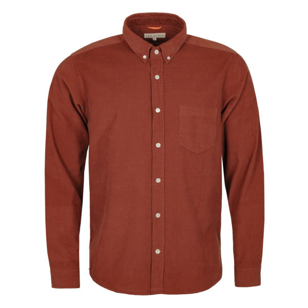 Far Afield Corduroy Shirt Brick