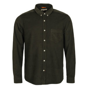Far Afield Corduroy Shirt beatle Green