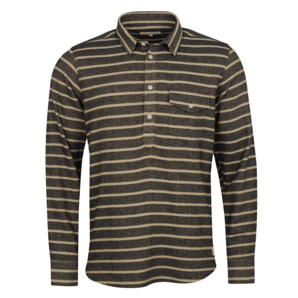 Far Afield Pocket Pop Over Flannel Shirt Fac Stripe