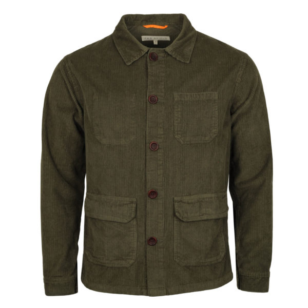 Far Afield Porter Cord Jacket Green