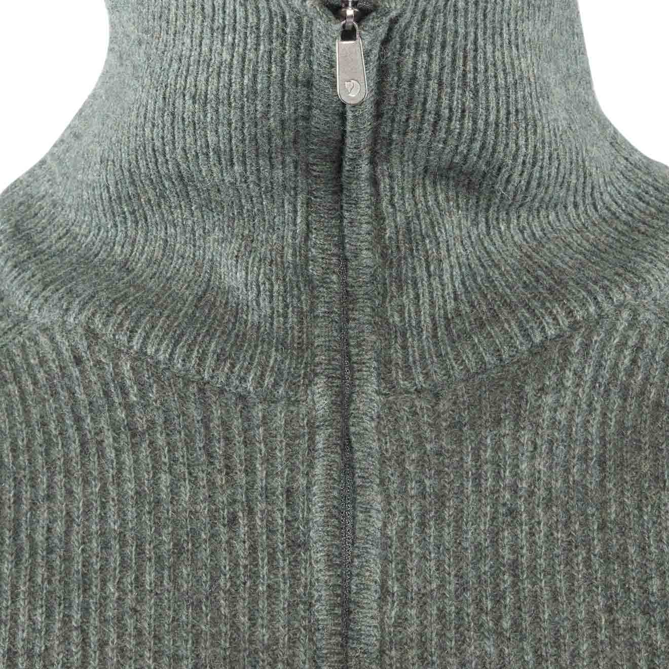Fjallraven Greenland Re Wool Sweater Thunder Grey | The