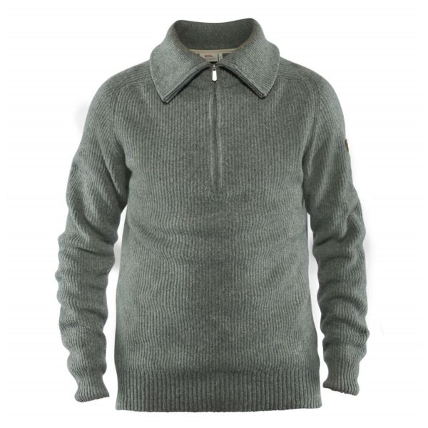 Fjallraven Greenland Re-Wool Sweater Thunder Grey