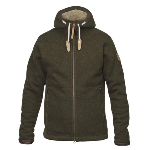 Fjallraven Polar Fleece Jacket Dark Olive