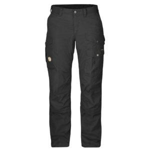Fjallraven Womens Barents Pro Trousers Black Black