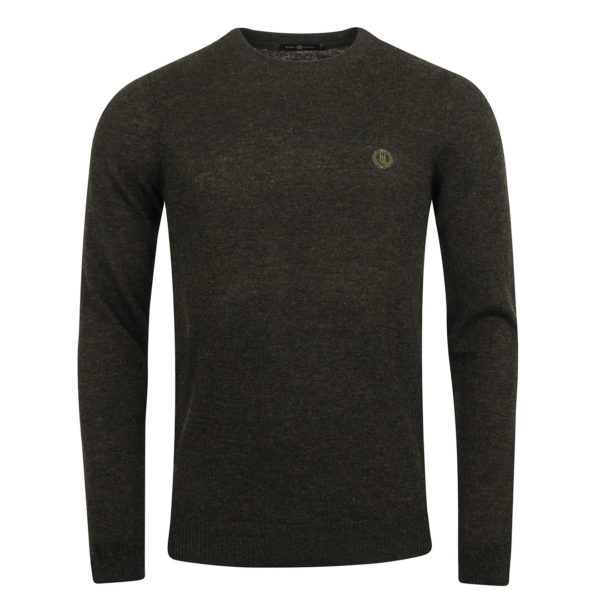 Henri Lloyd Labrot Regular Crew Neck Knit Green