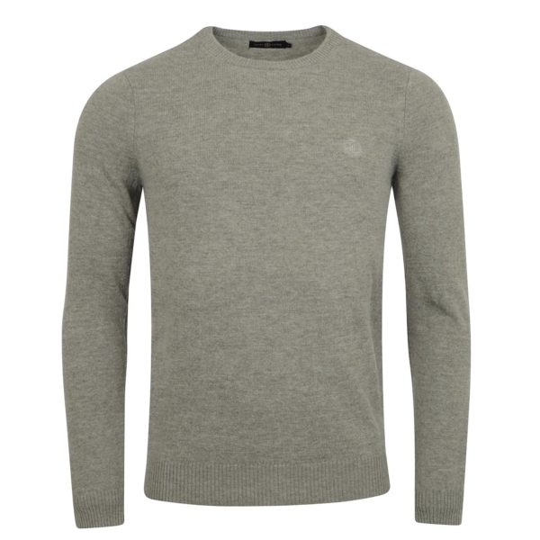 Henri Lloyd Labrot Regular Crew Neck Knit Grey 3