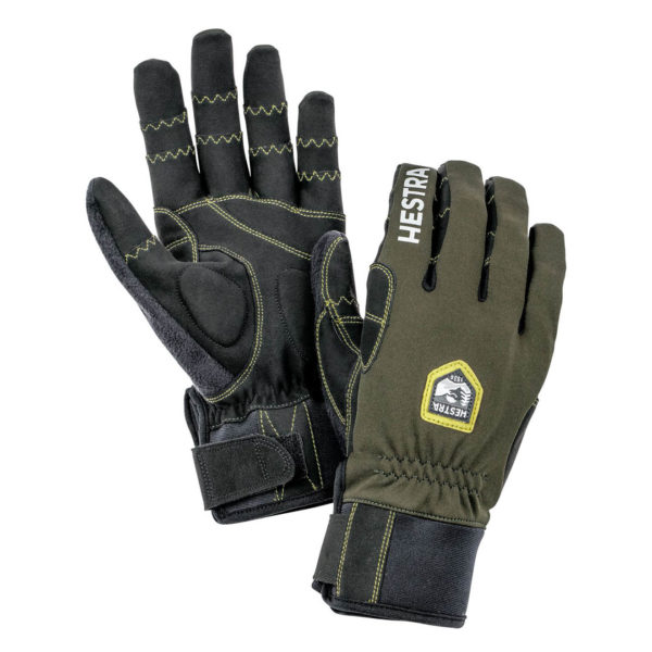 Hestra Biathlon Trigger Comp Mens Glove Dark Forest