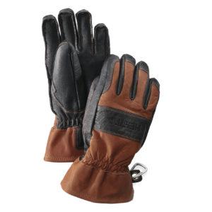 Hestra Falt Guide Mens Gloves Brown Black