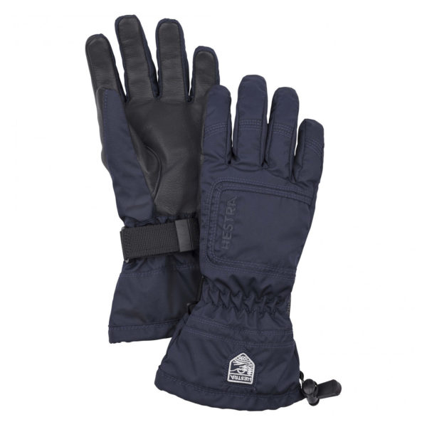Hestra Womens Czone Powder Gloves Dark Navy