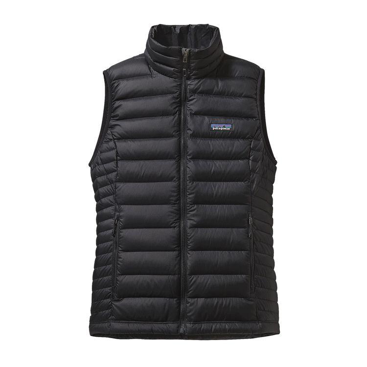 Patagonia Womens Down Sweater Vest Black