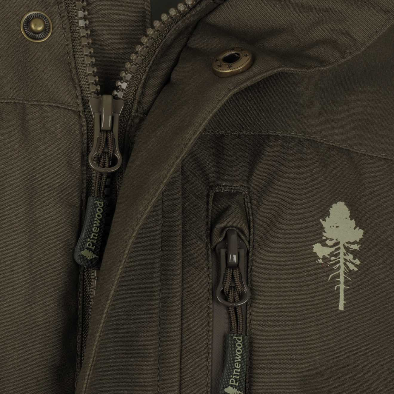 6ba5c3c9d Pinewood Caribou TC Extreme Jacket Dark Olive - The Sporting Lodge