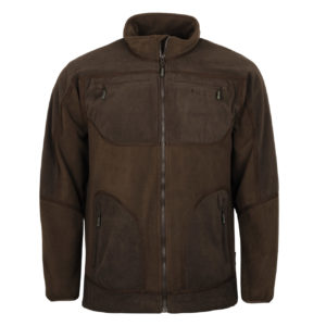 Pinewood Michigan Light Fleece Jacket Brown Hunting Brown