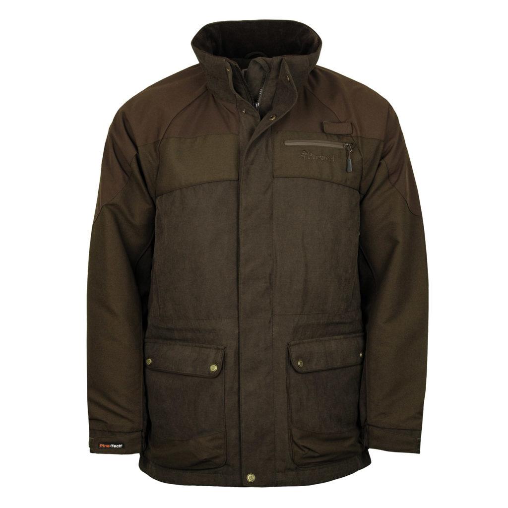 Pinewood Prestwick Exclusive Jacket Suede Brown