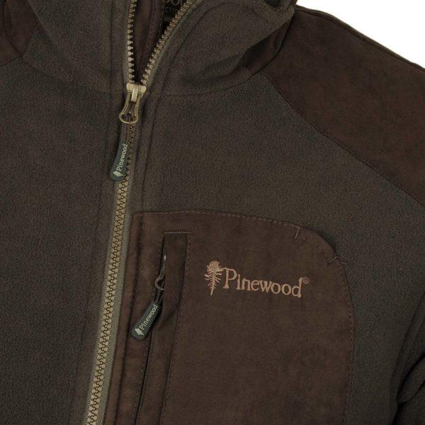 pinewood wildmark membran fleece jacke