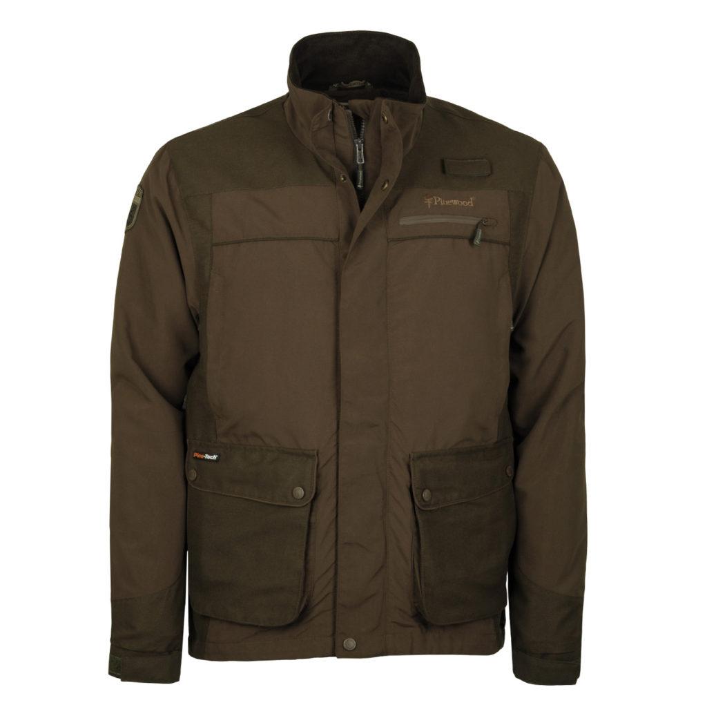 Pinewood Wolf Lite Jacket Hunting Brown Suede