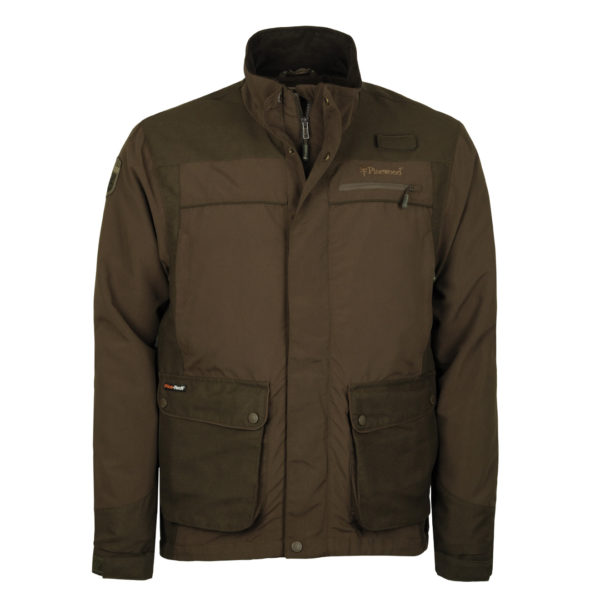Pinewood Wolf Lite Jacket Hunting Brown Suede