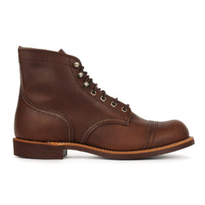 "Red Wing 6"" Iron Ranger Boot Amber"