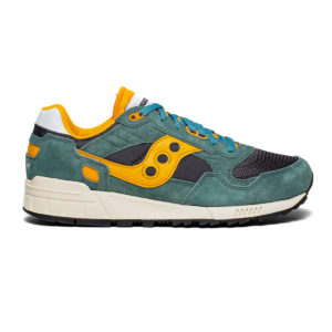 Saucony Shadow 5000 Vintage Teal Blue Orange