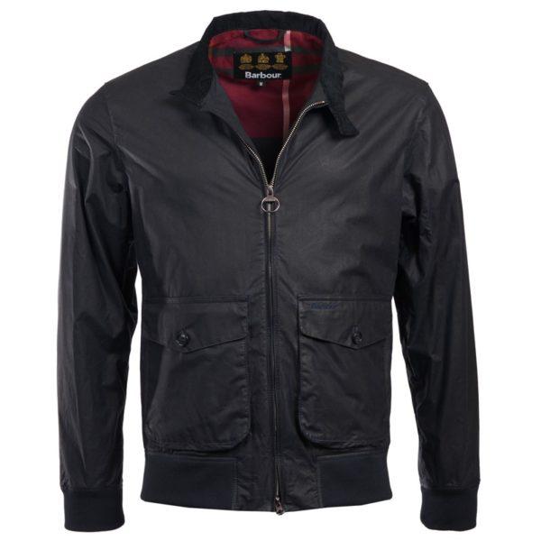 Barbour Hagart Wax Jacket Navy
