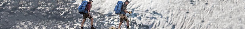 Two Men Hiking Wearing Walking Shorts